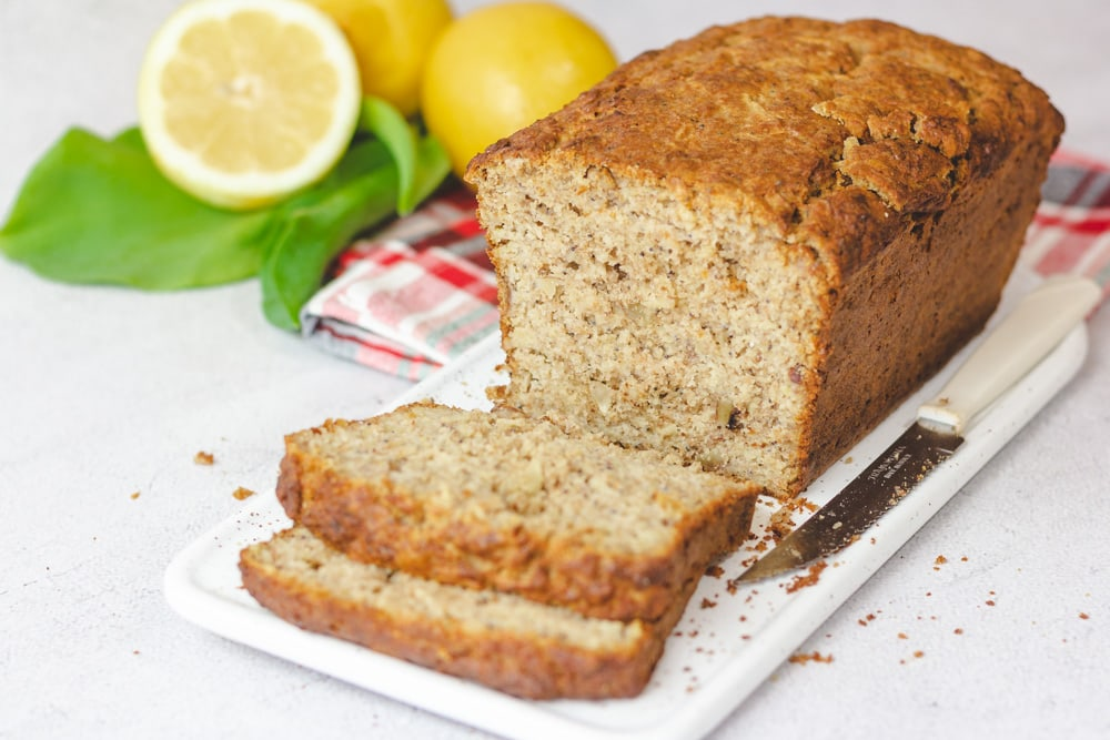 Pão em casa... de limão e sementes de papoila