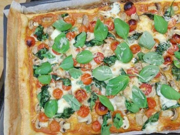 pizza saudável