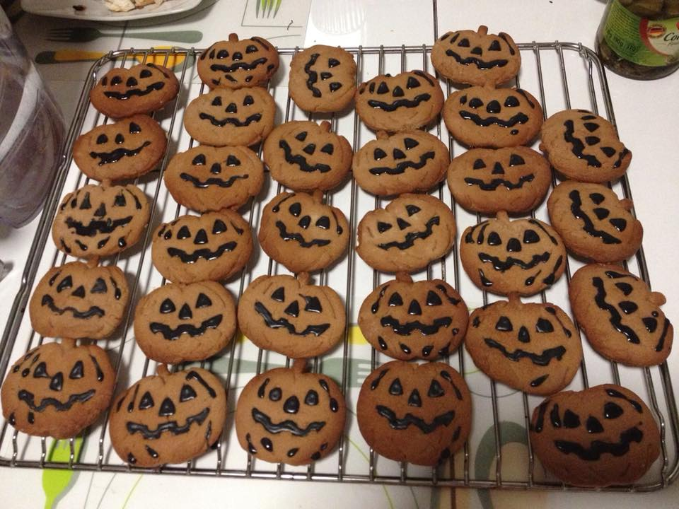bolachas halloween