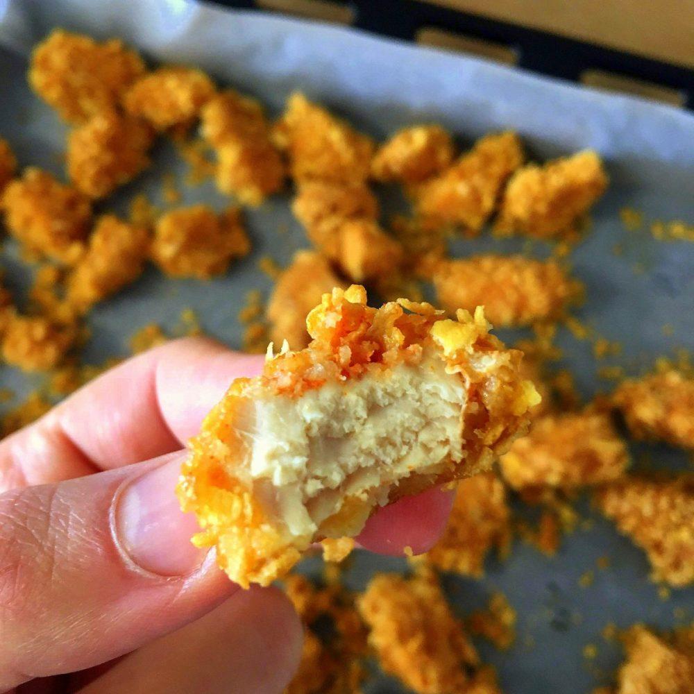 nuggets saudáveis a pitada do pai