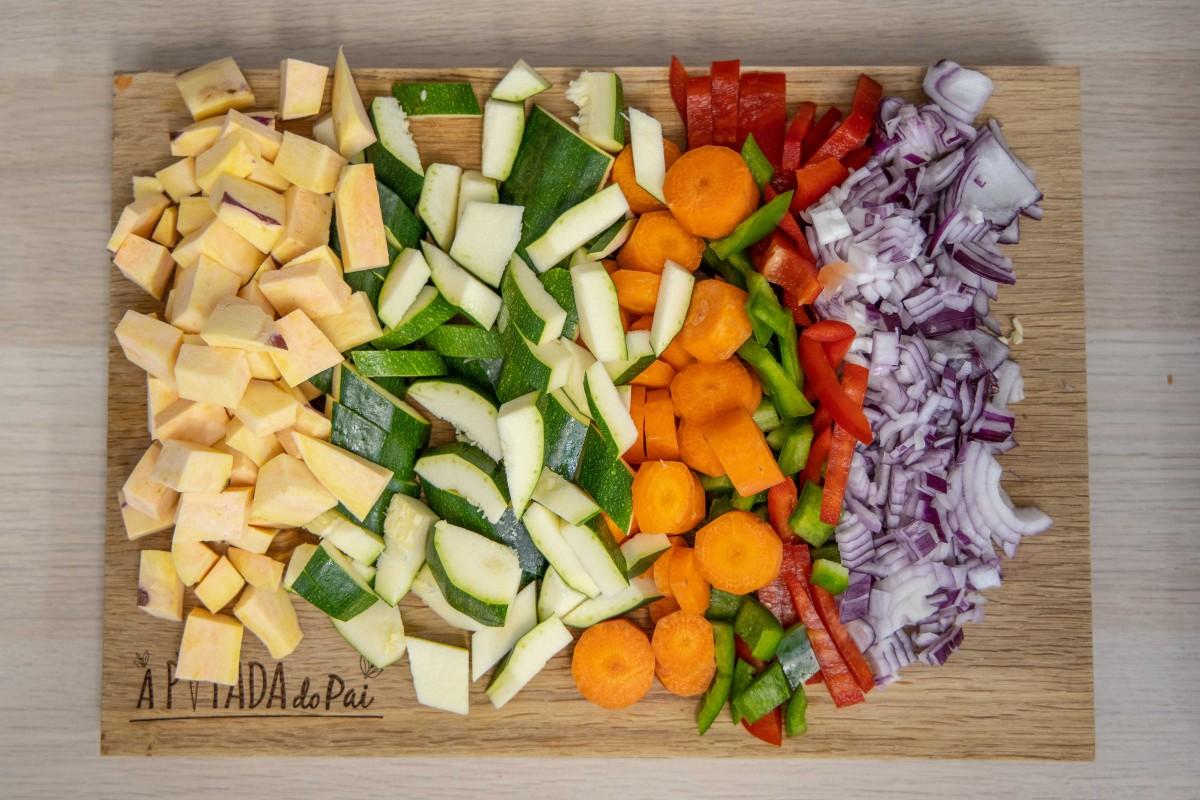 como reaproveitar sobras de legumes