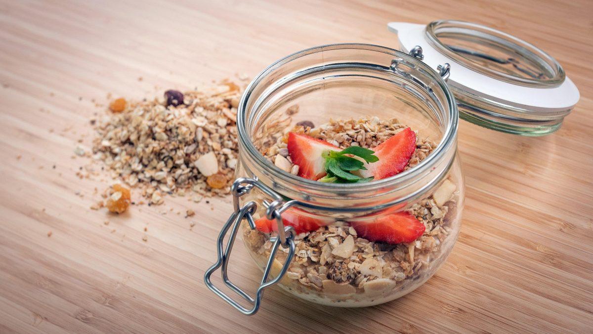como fazer granola de frutos secos
