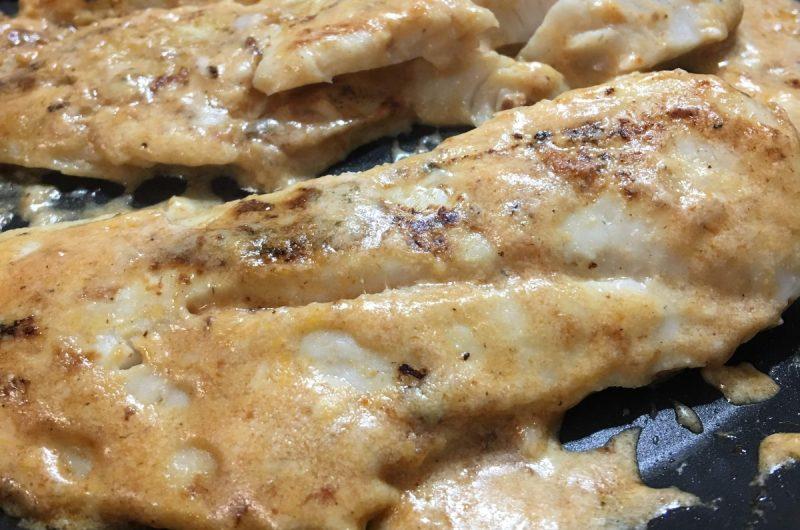 Filetes na frigideira