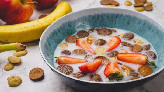 Cereais de pequeno-almoço (mini-panquecas)