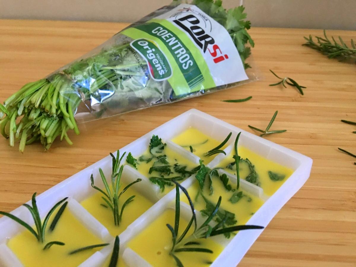 como conservar ervas aromaticas