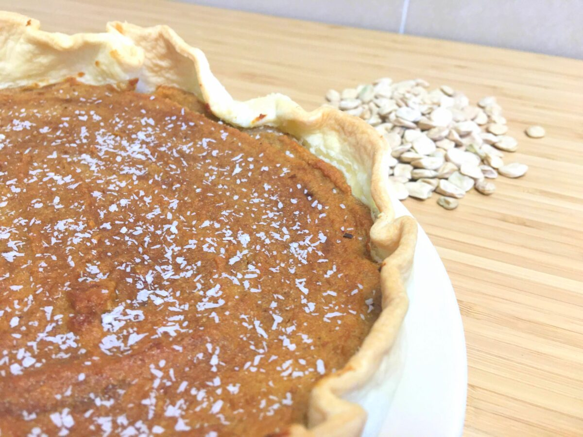 tarte doce de chicharo