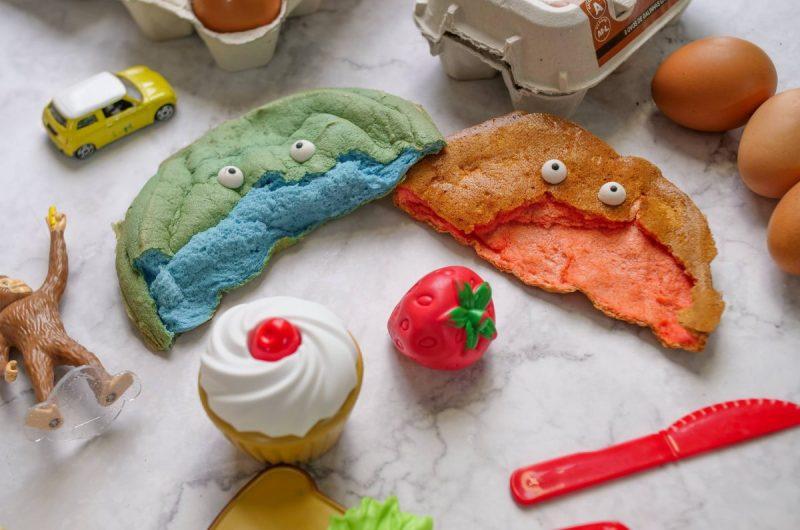 Pão colorido Dia da Criança